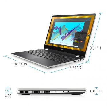لپ تاپ hp pavilion x360 15