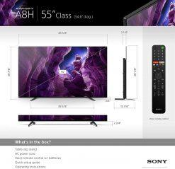 تلویزیون ۵۵ اینچ SONY 4K OLED سونی مدل A8H